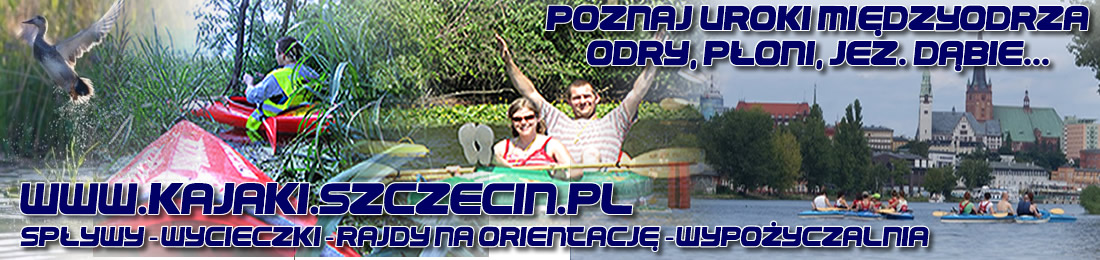 Kajakowe Rajdy na Orientację w Szczecinie i okolicach